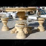 Banco di pietra di marmo del granito & banco dell'oro del deserto della Tabella & Tabella Mbt-1000