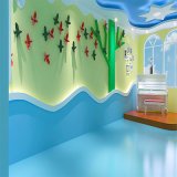 صناعة صاف لون تصميم روضة أطفال جيّدة سعر [بفك] أرضية