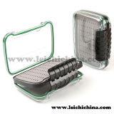 Wasserdichter Plastikfliegen-Fischerei-Kasten mit einfachem Griff-Schaumgummi NDS