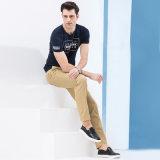 新しい人の形式的なズボンデザインカーキ色のズボンのズボン