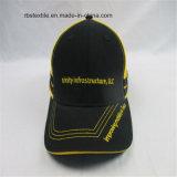 Выдвиженческая почищенная щеткой бейсбольная кепка высокого качества хлопка
