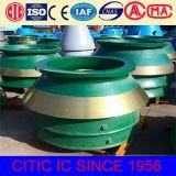 La fabbrica direttamente fornisce le parti del frantoio del cono di Hydrulic per il manto