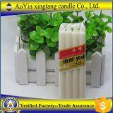 68g Gecanneleerde Kaarsen van de Stok van de Was van het huishouden de Witte