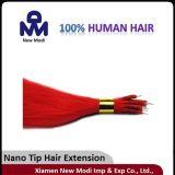Het Maagdelijke Braziliaanse Haar van 100%, Nano Uitbreiding van het Menselijke Haar van het Uiteinde