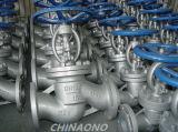 Tipo ad alta pressione valvola della flangia dell'acciaio inossidabile di globo di Wcb/rf