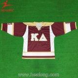 Jerseys del hockey de las mujeres de encargo de la impresión
