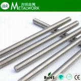 等級4.8/クラス4.8の鋼鉄によって電流を通される糸棒DIN975