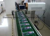 Marcador láser de aleación de aluminio en fábrica