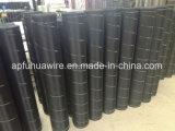 Rete metallica di alluminio nera o d'argento di alta qualità