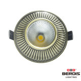 luzes de teto de bronze verdes do diodo emissor de luz de 3With5With7W Dimmable