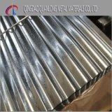 lamiera di acciaio ondulata rivestita del tetto dello zinco 200GSM