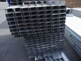 Tubo superventas de la casilla negra del material de construcción de Ss400 Q235