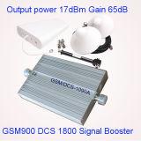 Impulsionador/repetidor móveis da freqüência da DCS G/M do repetidor 1800MHz do sinal dos &Dcs GSM900