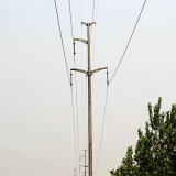 Башня передачи силы 110 Kv линейная Monopole
