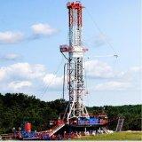 plate-forme de forage montée par dérapage terrestre de 1200 -7000m pour le gisement de pétrole