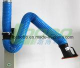 Capot flexible d'extracteur de vapeur de gaz de ressort de bras de ressort