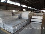 Широко используемые 5052, 5083, плита горячей завальцовки 5086 толщиная алюминиевая алюминиевая