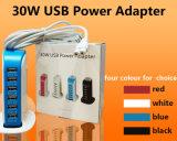 Carregador do telefone móvel de produtos novos 30W 6USB