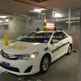 3G WiFi GPS 택시 상단 발광 다이오드 표시 스크린, 택시 최고 광고 스크린