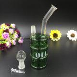 Tubulação de água de vidro da mini plataforma petrolífera de vidro para a tubulação de vidro