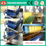 Machine de filtre de petite plaque hydraulique et d'huile de cuisine de bâti