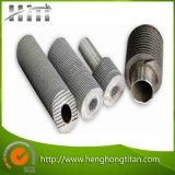 Tubo aletado del intercambio de calor, cambiador de calor del tubo aletado, tubo aletado del acero inoxidable