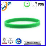 Promotion Gift를 위한 OEM Multicolor Debossed&Embossed Silicone Bracelet