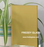 lo specchio glassato giallo di 2-12mm/specchio decorativo/lo specchio/acido di gelo hanno inciso lo specchio dell'impronta digitale di Mirror/No/specchio di sicurezza