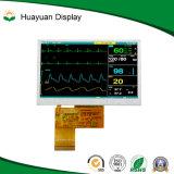 4.3 '' visualización de pantalla de Digitaces TFT LCD en existencias