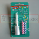 Sgs-anerkannte gewundene Geburtstag-Kerzen