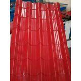 Farbe beschichtetes galvanisiertes Eisen-Dach-Blatt