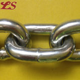 DIN766 GalivanizedおよびUngalivanized Iron Short Link Chain