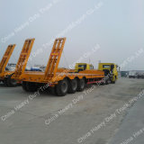 Maschinerie, die 50 Tonnen niedrige Bett-Sattelschlepper-transportiert