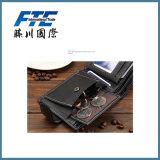 Бумажник людей PU быстрой надежной поставки кожаный с магнитной