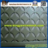 Panel de metal perforado utilizado para muro cortina de fachada