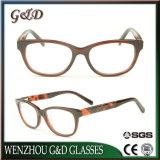 Het populaire In het groot Optische Frame Cc1712 van het Oogglas van Eyewear van de Acetaat