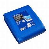 Encerado (HD) azul de Camoflague del encerado de la economía de plata del encerado del HDPE (Camo)