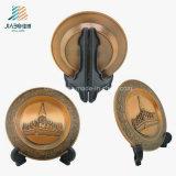 Piatto su ordinazione del ricordo del metallo di Veitnam del bronzo della fabbrica di alta qualità