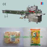 Macchina per l'imballaggio delle merci di riso di flusso orizzontale automatico della torta