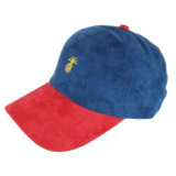 Ricamo non strutturato del berretto da baseball della pelle scamosciata dei cappelli all'ingrosso del papà