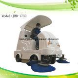 Электрическая промышленная езда на машине метельщика дороги