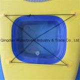 Gelbe Farben-aufblasbarer Paddel-Brandung-Vorstand mit freiem Fenster