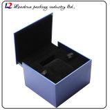 Cadre de mémoire en cuir de luxe d'étalage d'emballage de montre (Sy075)
