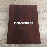 De madera negro de la alta calidad como el cuaderno educativo