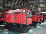 generador diesel silencioso estupendo 10kVA con el motor 403D-11g de Perkins con la aprobación de Ce/CIQ/Soncap/ISO