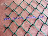 Ligação Chain galvanizada que cerc para as cortes do esporte (FR-4)