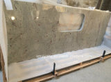 Fiume Water White Granite Stone Countertops per Kitchen, Bathroom