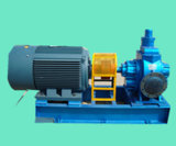 KCB Lube Oil Transfer Pump with Diesel Oil Engine