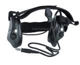 De radio Hoofdtelefoon van het Halsboord van Oortelefoons Tactische Militaire voor Wargame en Leger Cl42-0023