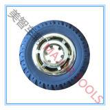 roues en caoutchouc solides de jouet de 100/127/150/200 millimètre